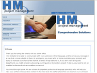 web design HM Project Management - Toronto Web designer