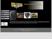 web design Hollywood North Auto - Toronto Web designer