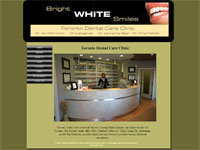 web design Toronto Dental Care